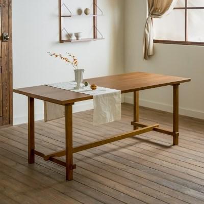[장미맨숀] 로사 원목 다이닝 테이블 식탁 1800