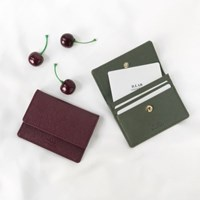 D.LAB [키링증정] flip simple card wallet - 4color_(904307)