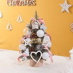 라인 핑크 트리 45cmP 미니트리 크리스마스 TRHMES_(1511467)