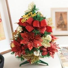 리본레드포인 트리 30cmP 미니트리 크리스마스 TRHMES_(1511451)