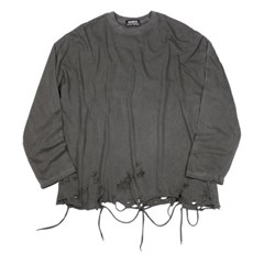 pigment grunge long sleeve (charcoal)