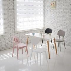 P414 플라스틱 인테리어 디자인 의자