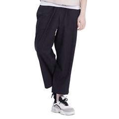 (UNISEX) Royal M Wide Pants (BLACK)_(1410443)