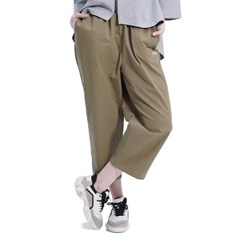 (UNISEX) Royal M Wide Pants (KHAKI)_(1410442)