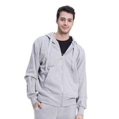 (UNISEX) Royal M Pocket Hood (GREY)_(1410541)
