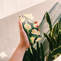 Sunshine Bloom Navy 하드/카드범퍼케이스 (전기종)