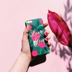 Carnation Love Khaki 하드/카드범퍼케이스 (전기종)