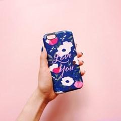 Anemone Love Blue 하드/카드범퍼케이스 (전기종)