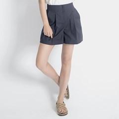 Linen Shorts (NAVY)_(1410602)