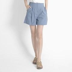 Linen Shorts (BLUE)_(1410601)