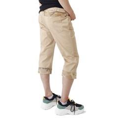 (UNISEX) CAMO Roll-up Capri Pants (BEIGE)_(1410680)