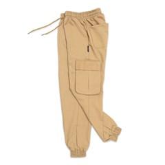 (UNISEX) M Royal Cargo-Jogger Pants (BEIGE)_(1410676)
