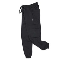 (UNISEX) M Royal Cargo-Jogger Pants (BLACK)_(1410675)