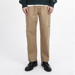 (UNISEX)Gargoyle Cargo Straight Span Pants(BEIGE)_(1410759)