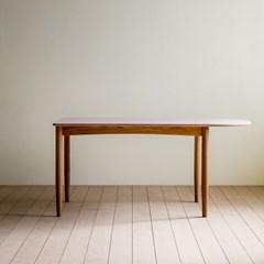 [리퍼브]린 반타원형 테이블 01_1600(색상:페블)