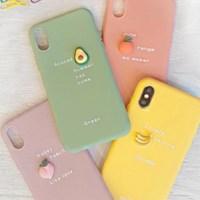 과일 레터링 젤리 케이스 노트10/노트10플러스 외 아이폰기종