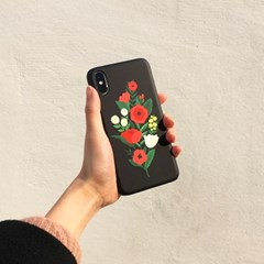 Bloom with sun Black 하드/카드범퍼케이스 (전기종)