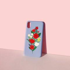 Bloom with sun Serenityblue 하드/카드범퍼케이스 (전기종)