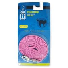 고양이외출용품 하겐캣잇고양이나일론줄5mm(핑크)_(1190145)