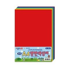 종이나라 12000 A4 양면색상지 10색 150매_(1856565)