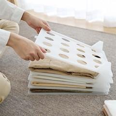 옷장 공간창출 셔츠 맨투맨 의류정리 TOWER 트레이 5P_(1102957)