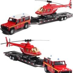 랜드로버 디펜더 110 & 헬리콥터 세트/Land Rover
