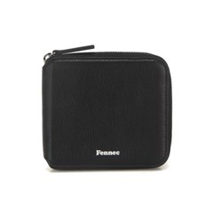 FENNEC SOFT ZIPPER WALLET - BLACK