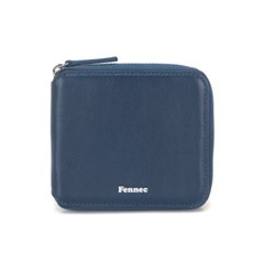 FENNEC SOFT ZIPPER WALLET - DUSTY BLUE