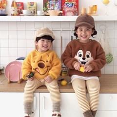데) 뽀글 디즈니친구들 아동 맨투맨