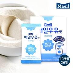 [매일유업] 우유맛 분말스틱 오리지널 20gx10개입x6세트_(10633381)