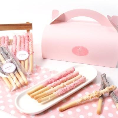 핑크롤 막대과자만들기세트 DIY 초콜렛 발렌타인데이