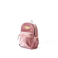 비지비 벨벳백팩 핑크 S