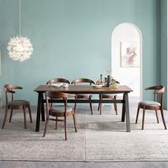 로아 원목 식탁의자 2EA