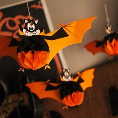 할로윈모빌 박쥐-3입