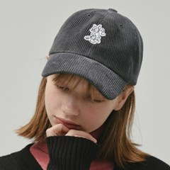 [FW19 T&J] One Point Corduroy Cap(Grey)_(717706)