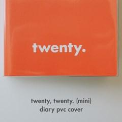 오롤리데이 Twenty,Twenty(미니버전) 다이어리 투명커버