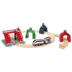 스마트테크-액션 터널 전동기차 세트(33873)
