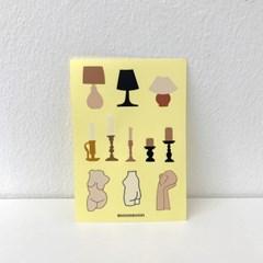 오브제 스티커 03 object stickers 03