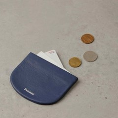 FENNEC HALFMOON MINI POUCH - DUSTY BLUE