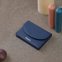 [3/12 예약배송]FENNEC HALFMOON ACCORDION POCKET - DUSTY BLUE