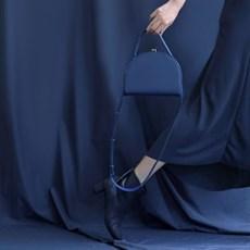 FENNEC HALFMOON FRAME BAG - DUSTY BLUE