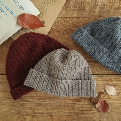 [런드리맷플러스] Short Knit Beanie (5 colors)