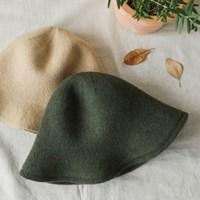 [런드리맷플러스] Soft Wool Hat (4 colors)