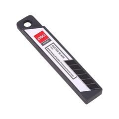 DELI 델리  블랙 커터칼날 (대) 10개입 no.E78000