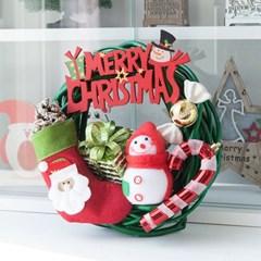 볼드 사탕 리스 250Ø(mm)P 트리 크리스마스 TRWGHM_(1524238)