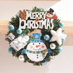 보드 눈사람 리스 250Ø(mm)P 트리 크리스마스 TRWGHM_(1524227)