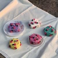 플라워 케이크 캔들 5color 4scent