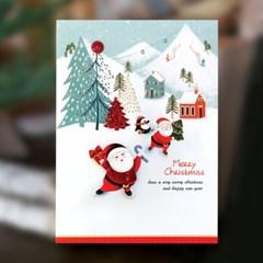 크리스마스카드 FS1032-2