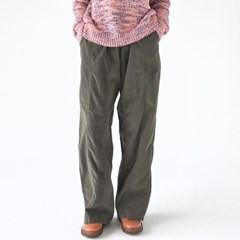 loose corduroy banding pants (3colors)_(1366305)