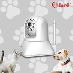 EasyCAM 100만화소 HD급 고화질 반려동물 IP카메라 가정용 홈 CCTV